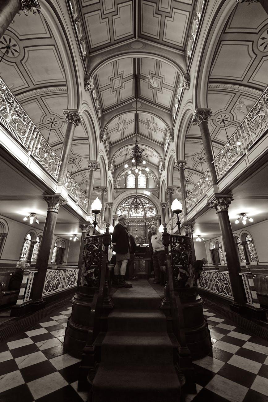architecture black and white brighton building